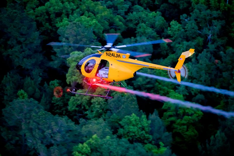 Just Helicopters > Community Articles > Dī´vʉrs´ - Chatham County Mosquito Control Air Unit's Differing Services